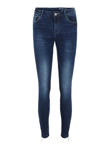 NMKIMMY CROPPED REGULAR WAIST SKINNY JEANS