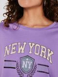 SHORT SLEEVED TOP, Amethyst Orchid, highres