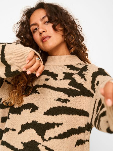 Noisy May LONG KNITTED PULLOVER, Nomad, highres - 27017916_Nomad_882984_007.jpg
