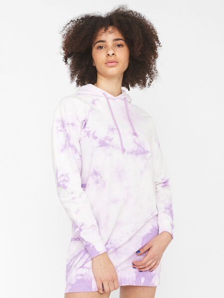 ORGANIC COTTON TIE DYE SWEAT DRESS