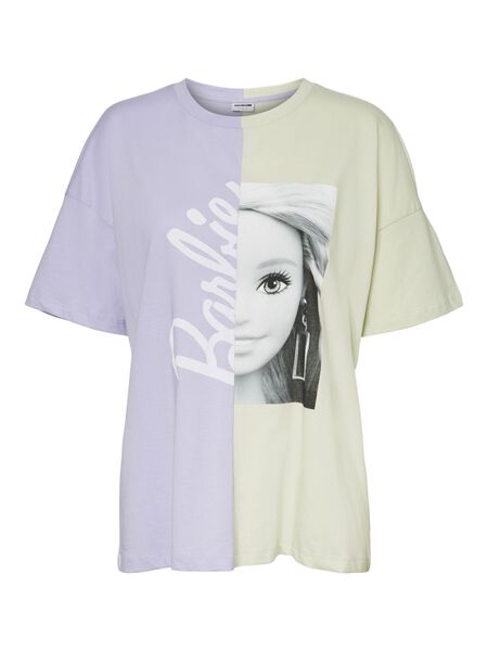 BARBIE-PRINT T-SHIRT