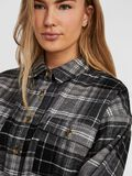 COUPE AMPLE CHEMISE, Black, highres