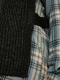 KNIT GILET, Dark Grey Melange, highres