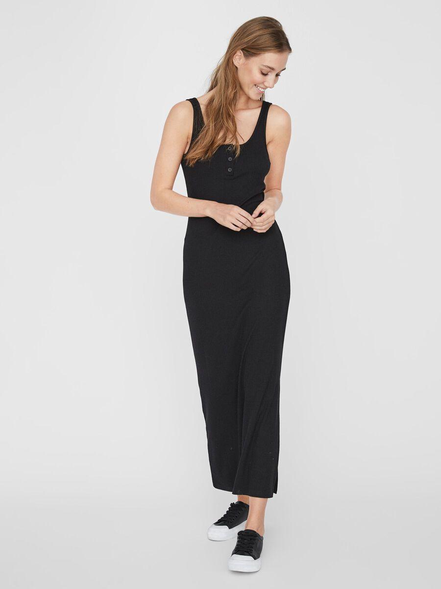 Noisy May MAXI DRESS, Black, highres - 27010980_Black_003.jpg
