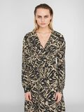 GRAPHIC PRINT DRESS, Chateau Gray, highres