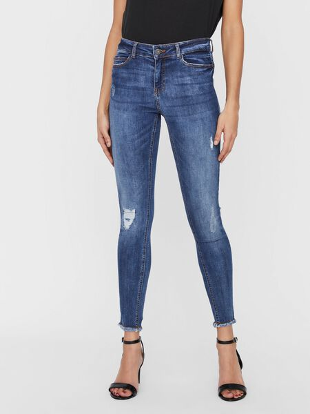 NMLUCY CROPPED ANKLE NORMAL WAIST SKINNY FIT JEANS
