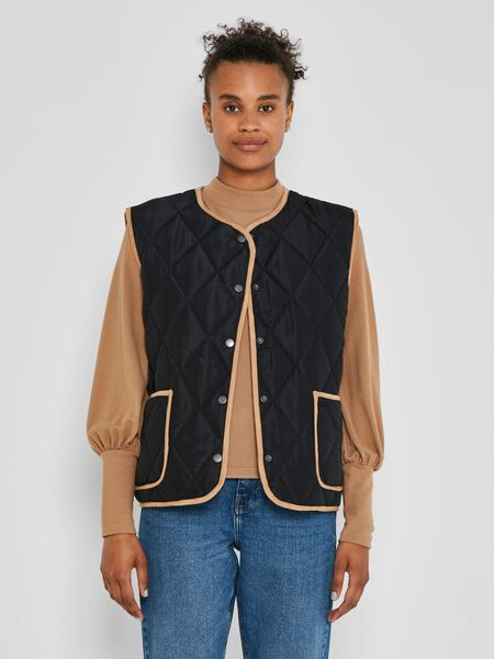 Noisy May QUILTED GILET, Black, highres - 27019104_Black_904385_003.jpg