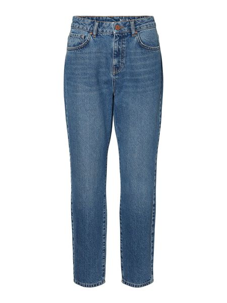 NMISABEL HIGH WAIST LOOSE FIT JEANS