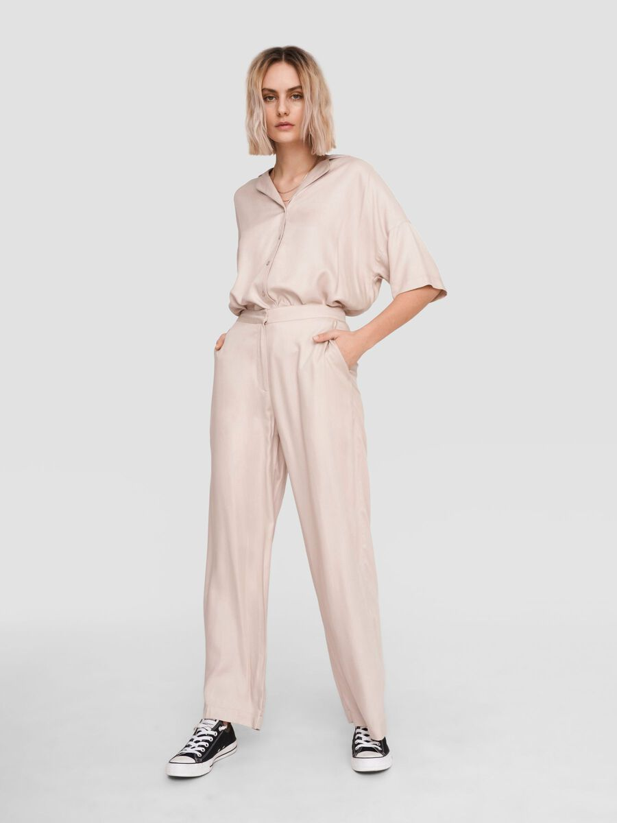 LOOSE FIT TROUSERS, Chateau Gray, highres