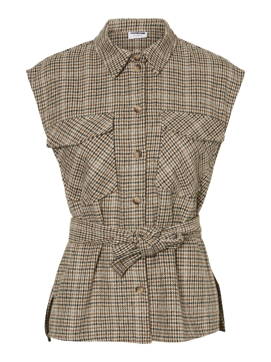 CHEQUERED WAISTCOAT, Nomad, highres