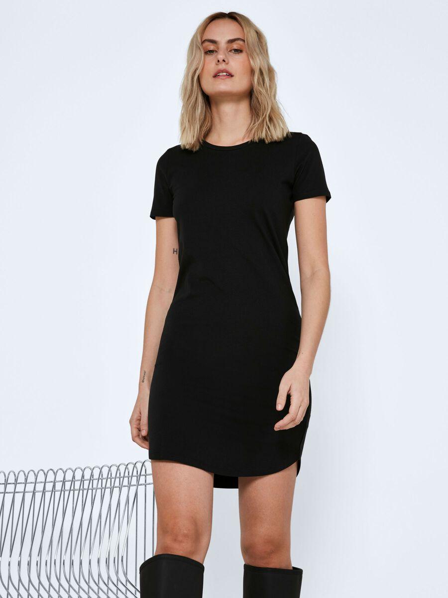 Noisy May SHORT SLEEVED DRESS, Black, highres - 27011694_Black_007.jpg
