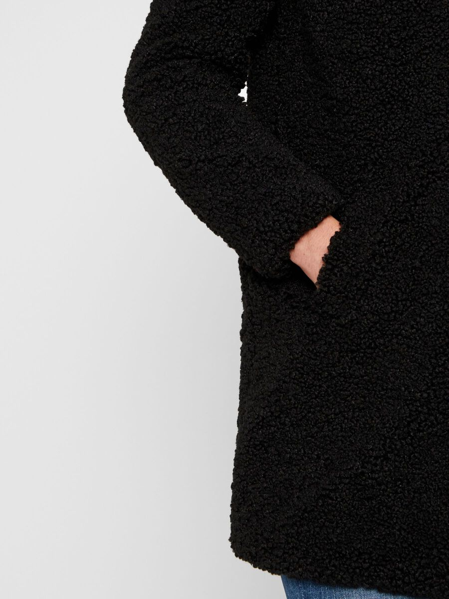 Noisy May TEDDY JACKET, Black, highres - 27010169_Black_007.jpg