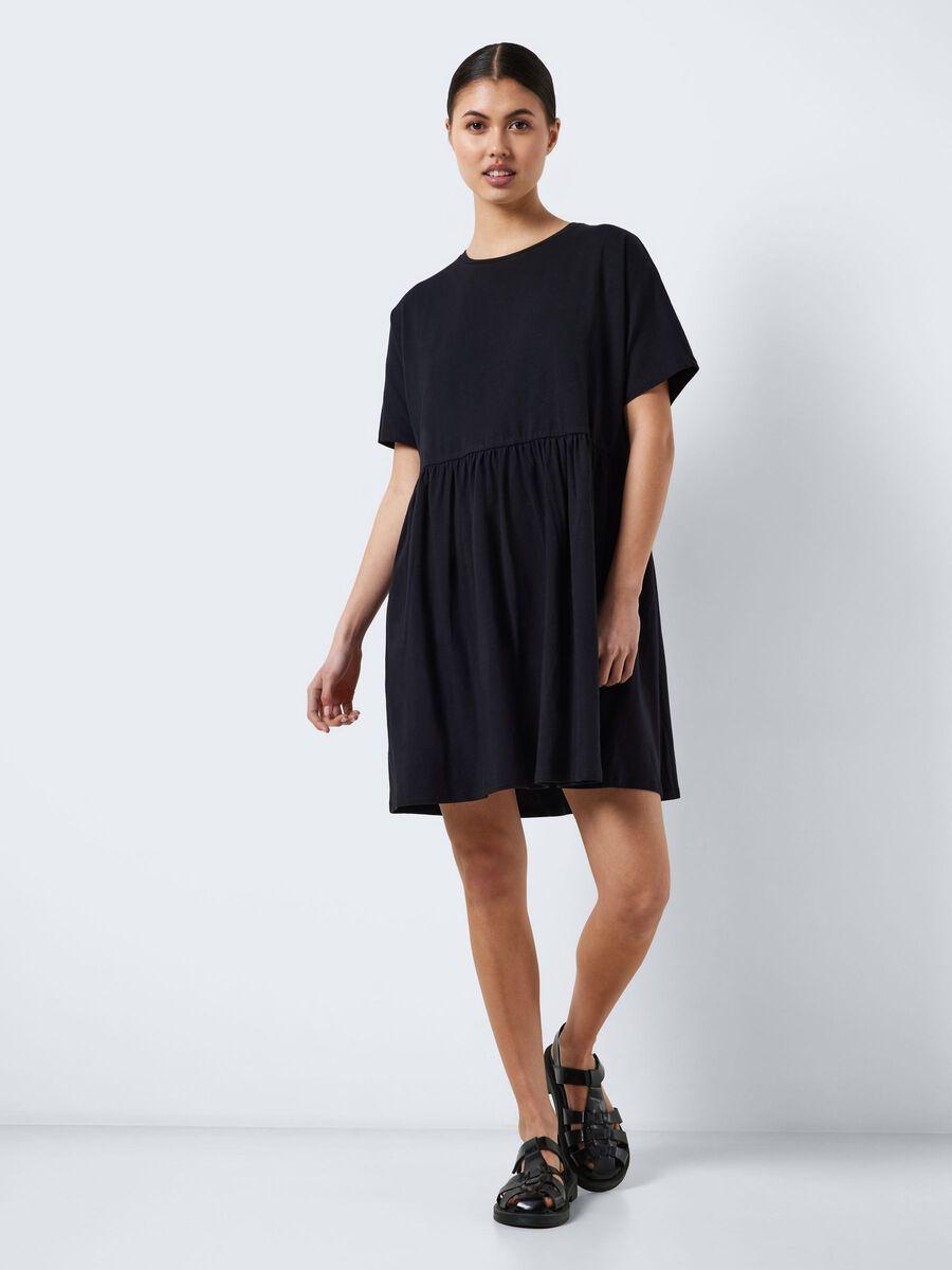 Noisy May SHORT SLEEVED SHORT DRESS, Black, highres - 27015315_Black_007.jpg