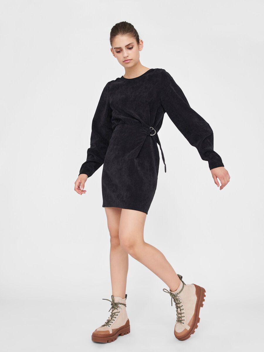 Noisy May CORDUROY DRESS, Black, highres - 27014351_Black_007.jpg