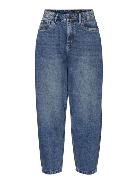 NMSELLA HIGH-WAIST LOOSE FIT JEANS