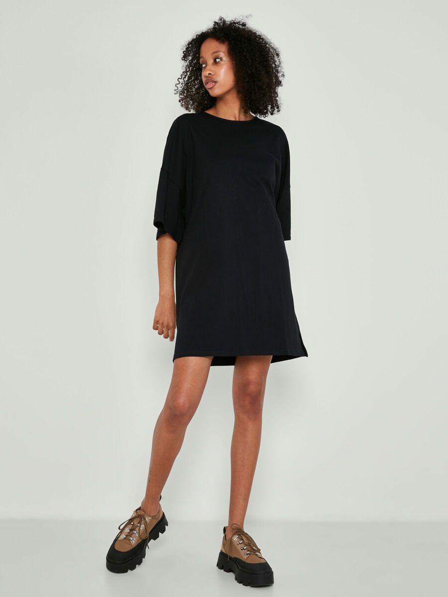 Noisy May SHORT DRESS, Black, highres - 27016656_Black_007.jpg