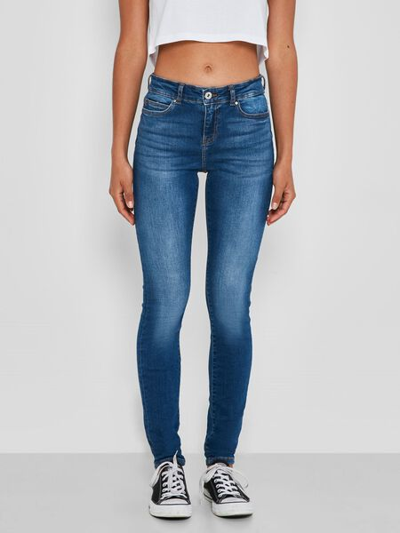 NMLUCY NORMAL WAISTED SKINNY FIT JEANS