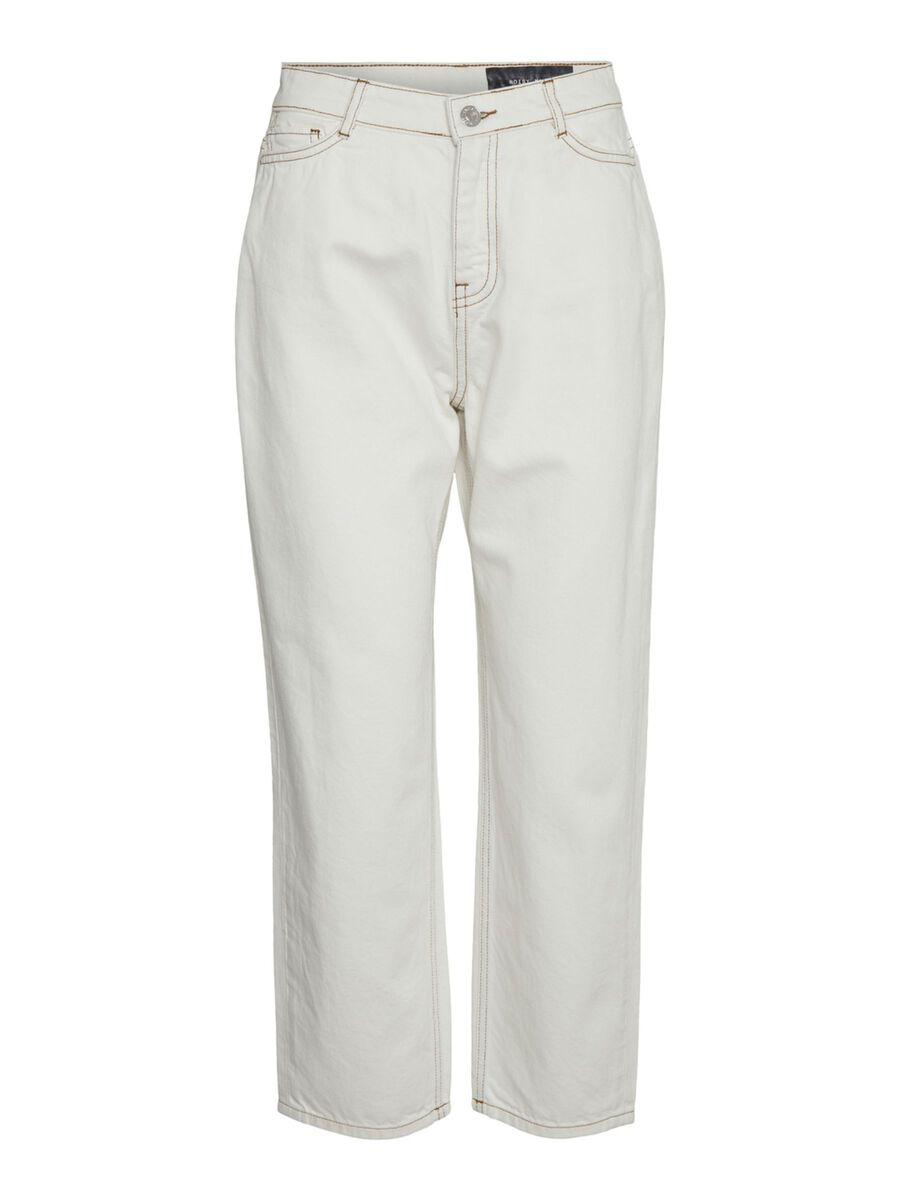 NMBROOKE STRAIGHT FIT JEANS, White, highres