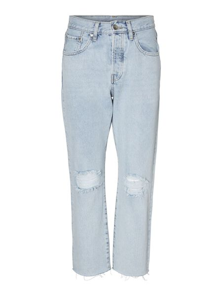 NMCARA DONNA HIGH WAIST LOOSE FIT JEANS