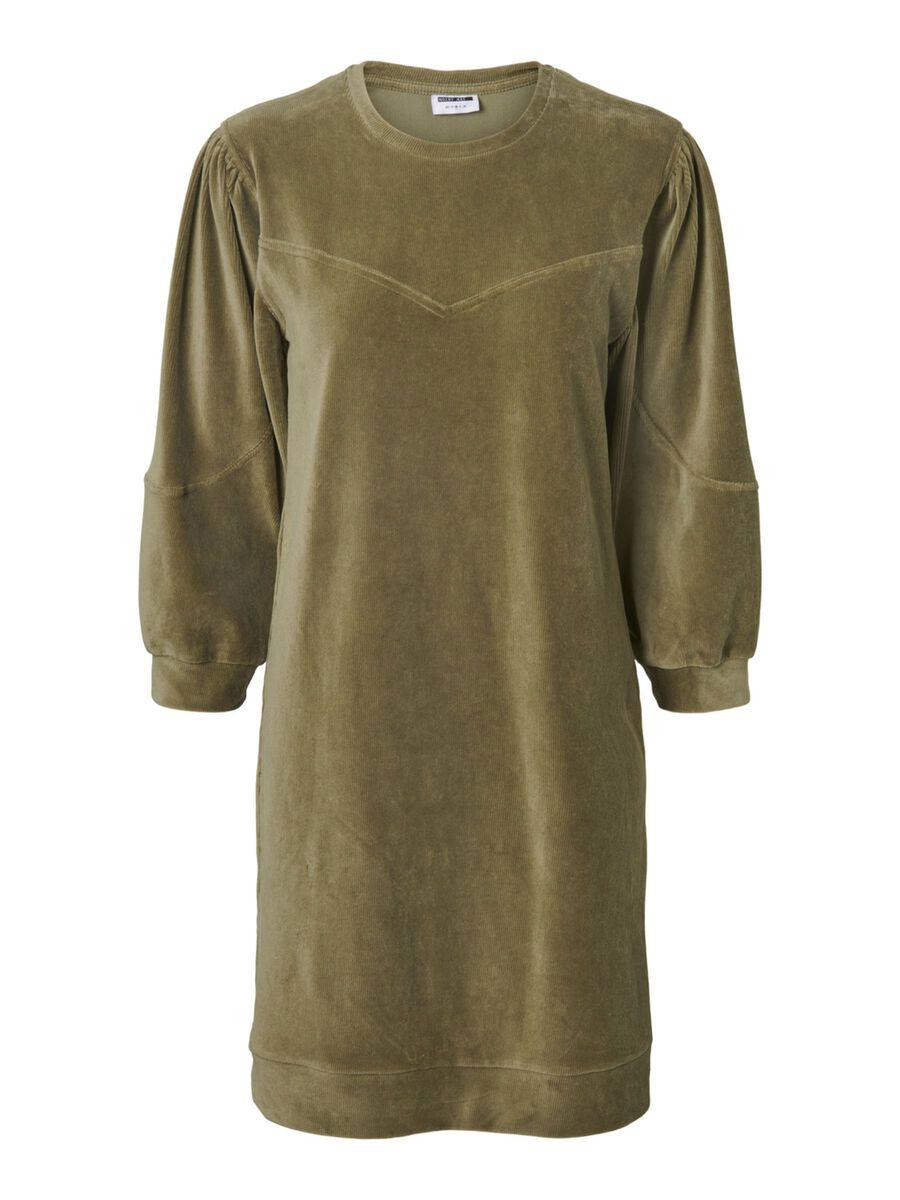 CORDUROY MINI DRESS, Kalamata, highres