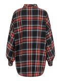CHEQUERED SHIRT, Haute Red, highres