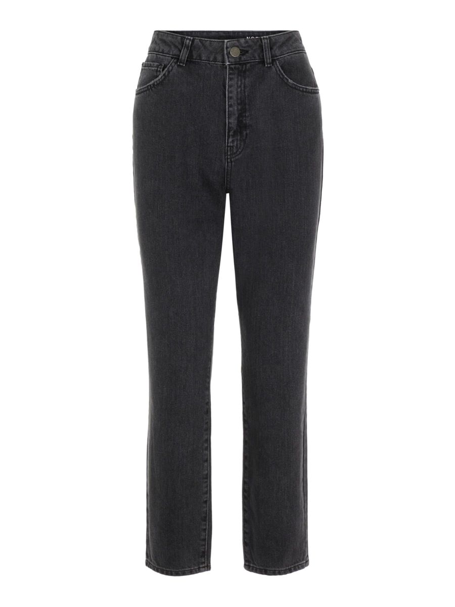 NMISABEL TAILLE HAUTE CHEVILLE JEAN MOM, Black, highres