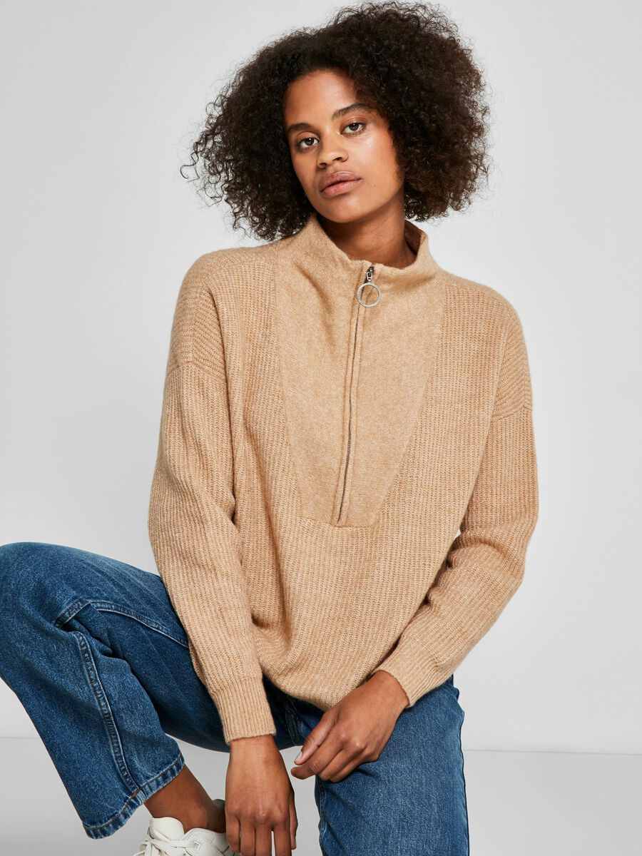 KNITTED PULLOVER, Nomad, highres