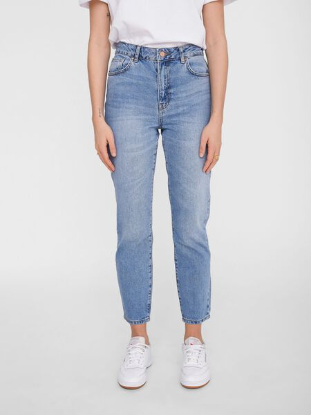 NMISABEL MOM HIGH WAISTED JEANS